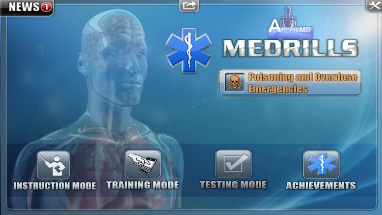 Medrills: Poisoning and Overdose Emergencies