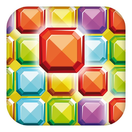 A Gem Mine: Jewel Match Line Puzzle - FREE Edition