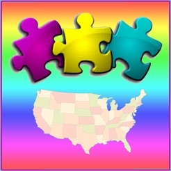USA Map Puzzle - Map the States on the App Store