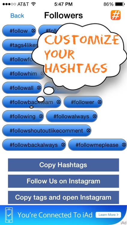 Tags4Likes - Copy and Paste HashTags for Instagram - Tags For Likes