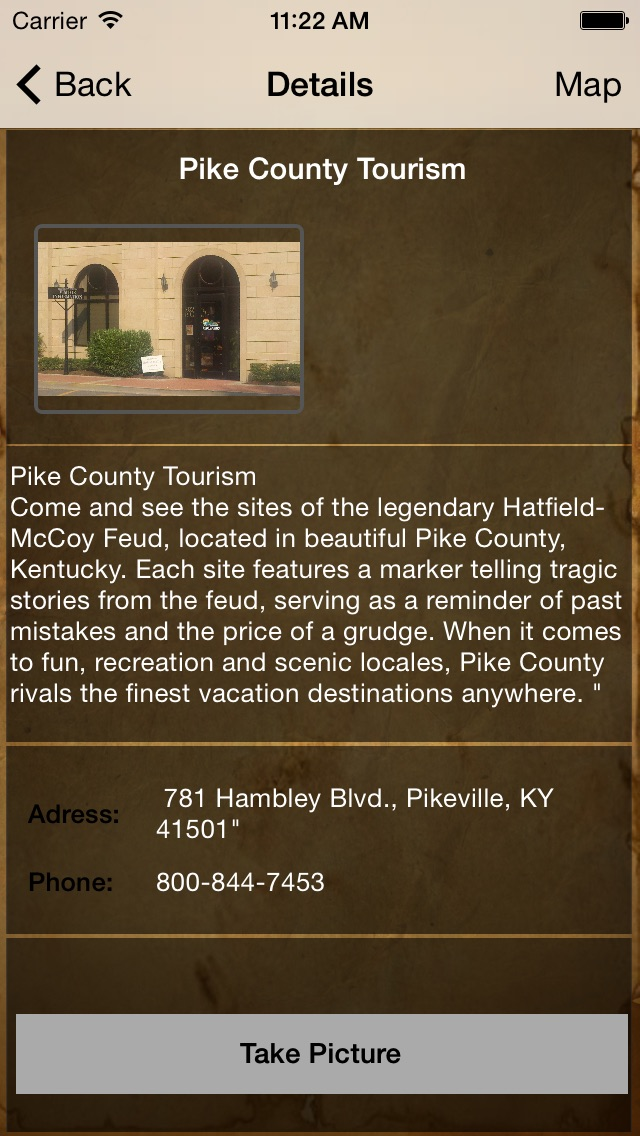 Hatfield & McCoy Feud Tour App