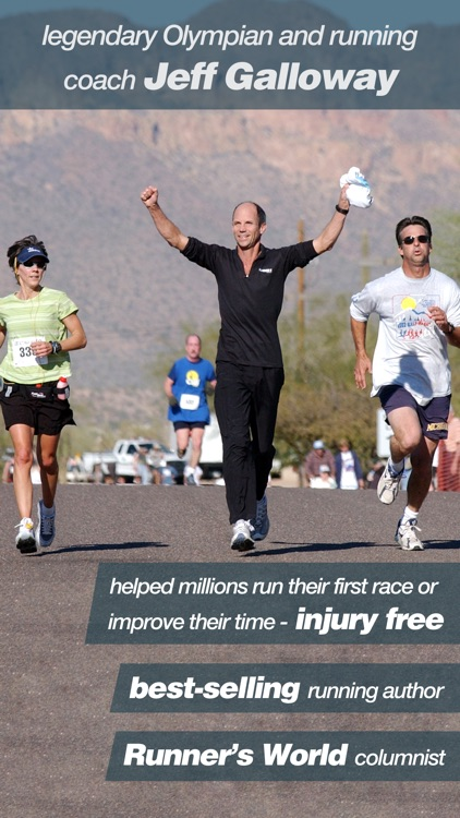 Half Marathon Trainer - Run/Walk/Run Beginner and Advanced Training Plans with Jeff Galloway