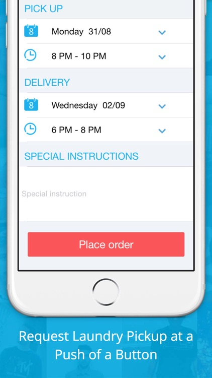 washplus Laundry Pickup and Delivery App - Dubai