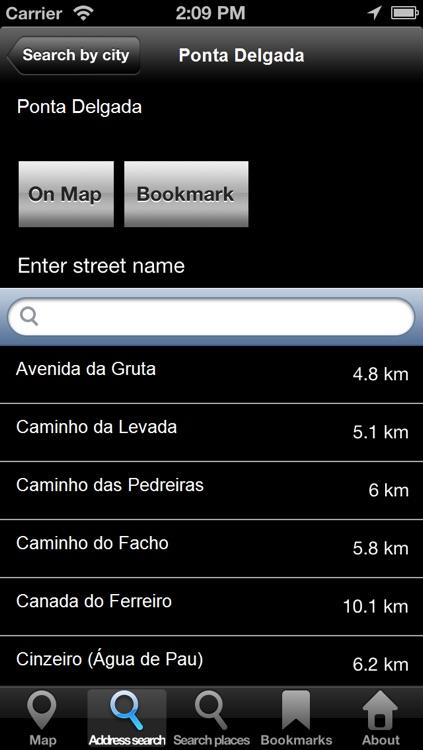Offline Map Azores: City Navigator Maps screenshot-3