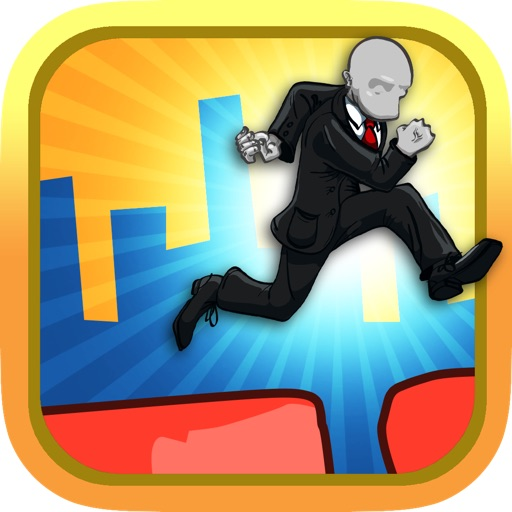 A Slenderman Sky Jump Mania Pro