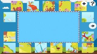 農場拼圖 - 拼圖兒童,幼兒和家長的遊戲! 學習 與動物,農民,牛,馬,羊,鵝,鴨,蜜蜂和蝴蝶的幼兒園,學前班和幼兒園屏幕截圖3