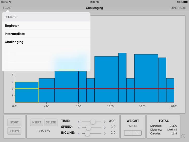 Treadmill Interval Running Lite screenshot-3