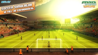 Striker Soccer London: your goal is the gold screenshot one