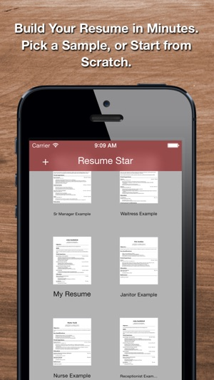 Resume Star: Pro CV Maker And Resume Designer With PDF Output To Help You  Score That Job Interview And Advance Your Career On The App Store  Resume Star