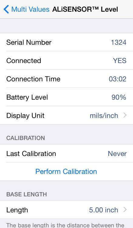 Multi Values for ALiSENSOR™ Level screenshot-4