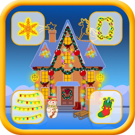 Fun Christmas House Dressing up Game Pro - Kids Safe App - No Adverts