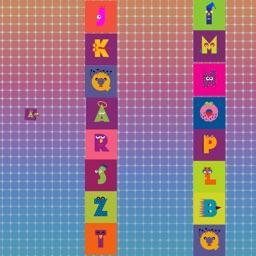Flappy Train with Alphabet