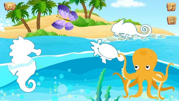 Lola's Beach Puzzle screenshot-3