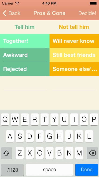 Do it! A Decision Making App screenshot-1