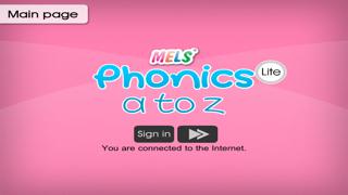 MELS Phonics A to Z Lite screenshot one