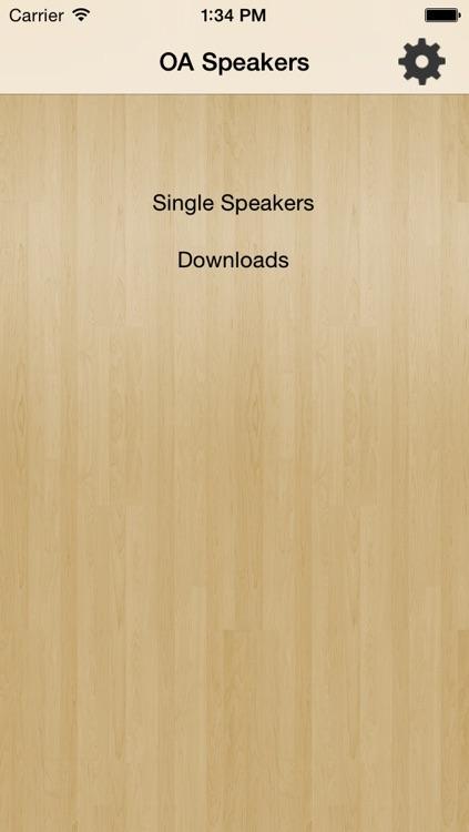 OA Speakers Free