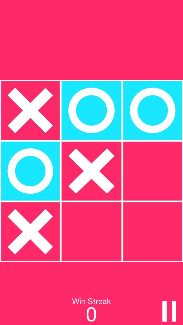X and O screenshot two