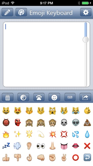 Emoji Keyboard Save Color Text Characters Symbols Emoticons To