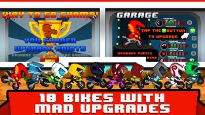 Blocky Bike Race 3D - A Pixl Roads Block Run screenshot three
