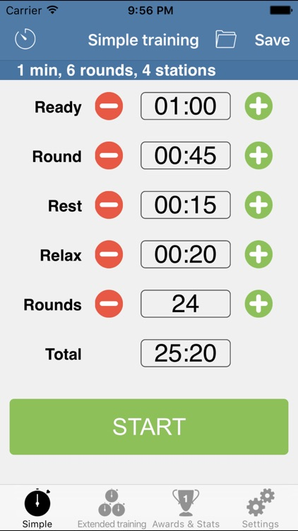 HIIT Interval Training Timer - training timer