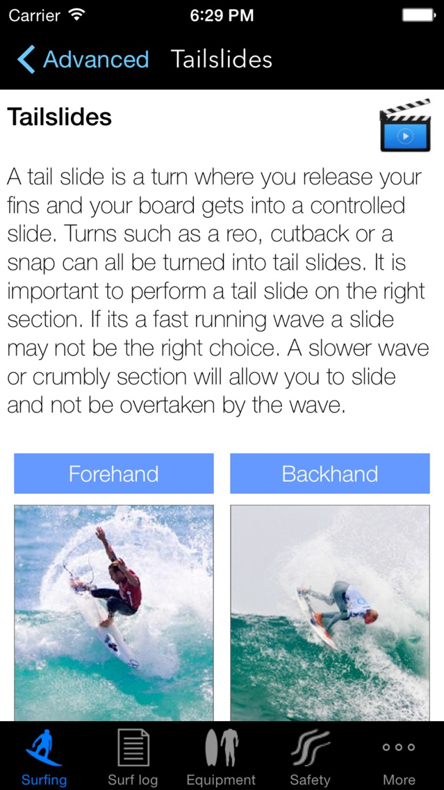 Screenshot for iSurfer - Surfing Coach in Chile App Store