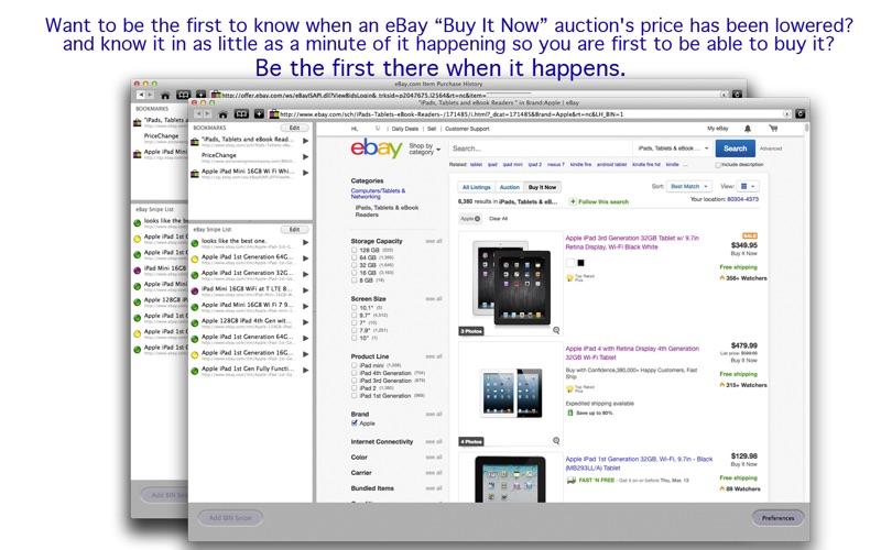 Price Change Sniper for eBay | App Price Drops