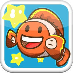Doodle Fish Swim Tale! - A Splashy Rainbow Hunt for Ocean Stars Under the Sea Scribble Edition FREE