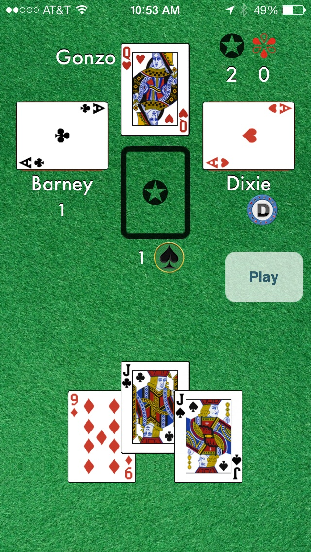 Euchre Online Screenshot