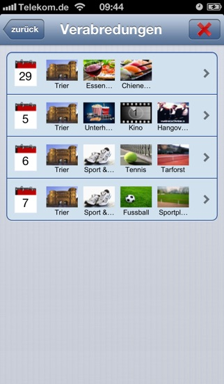 DateboardScreenshot von 3