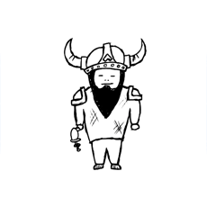 Activities of Viking Doodle Warrior Two Man Clash-  Fast Fingers Duel Game