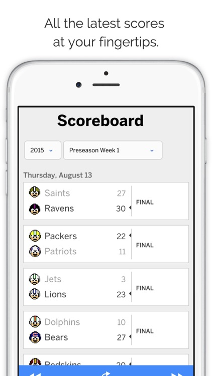 GameDay Pro Football Radio - Live Games, Scores, Highlights, News, Stats, and Schedules screenshot-3