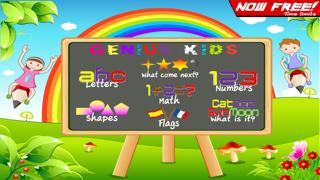Genius Kids Games (Free 123 ABC Words Learning Genius Fun Kids Game for Baby, Toddler, Preschool and Kindergarten Genius) screenshot one