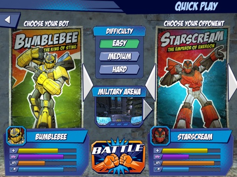 Transformers: Battle Masters-ipad-1