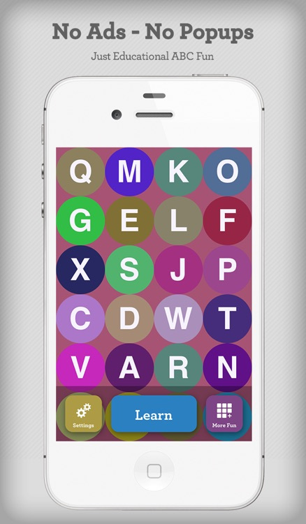 Alphabet Game - Build Letter Confidence