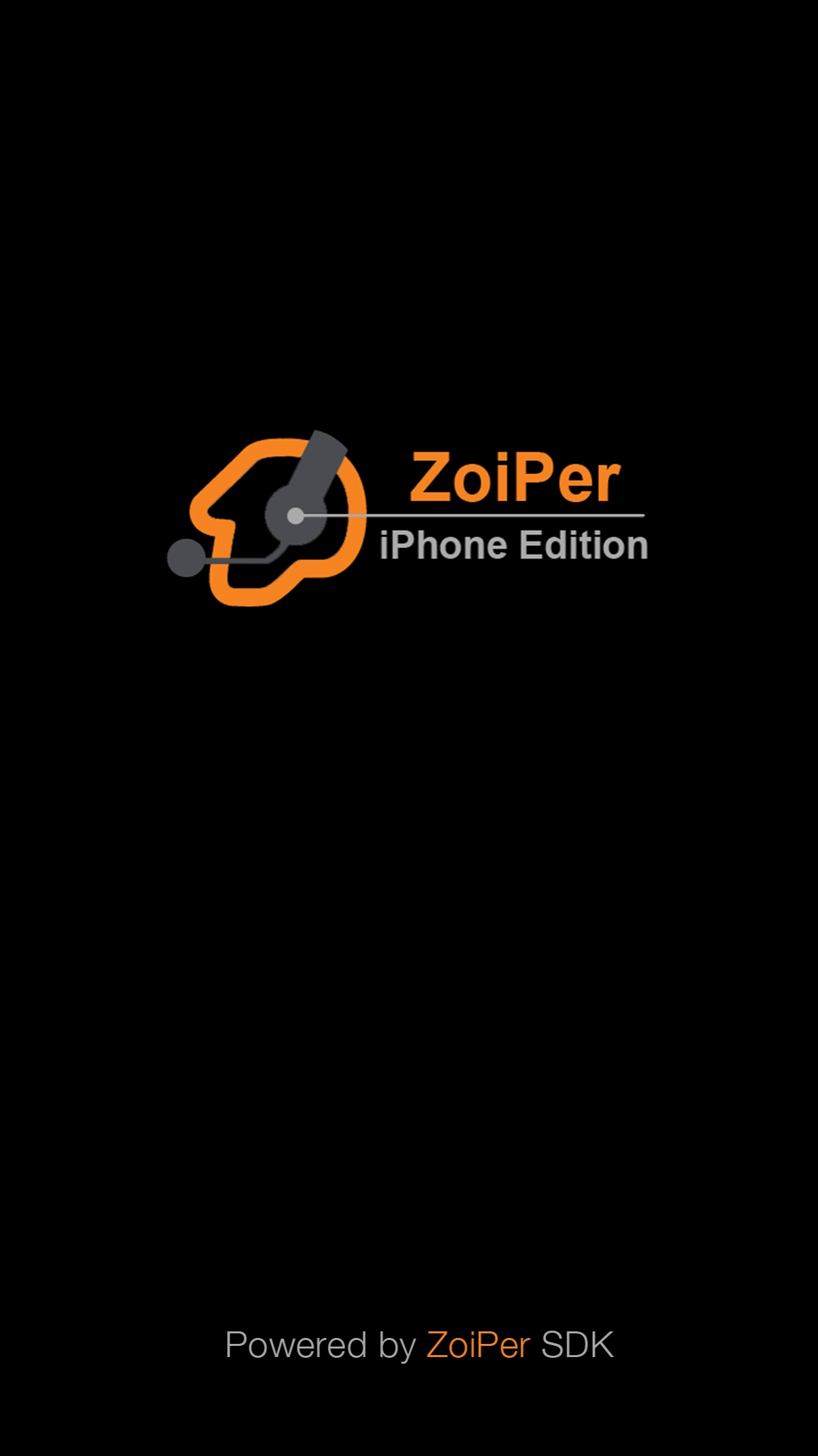 Zoiper Lite voip soft phone Screenshot