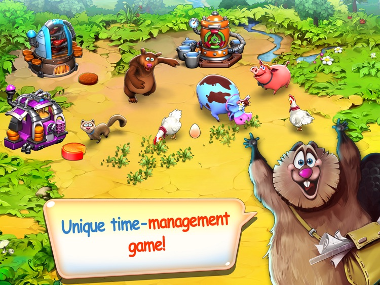 Farm Frenzy Inc. – best farming time-management sim puzzle adventure for you and friends!