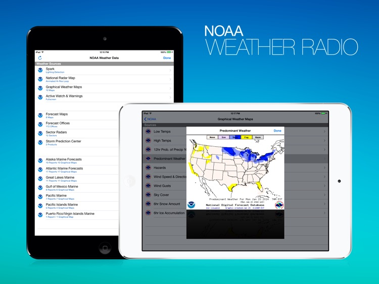 NOAA Weather Radio HD screenshot-4