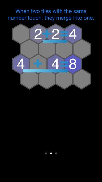 2048 Hexagon screenshot-3