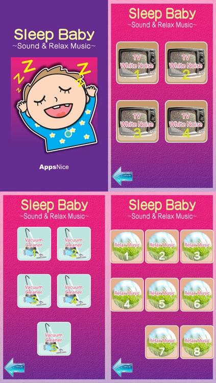 Sleep Baby : Baby Don't Cry! Sound & Relax Music for Baby & Mom screenshot-4