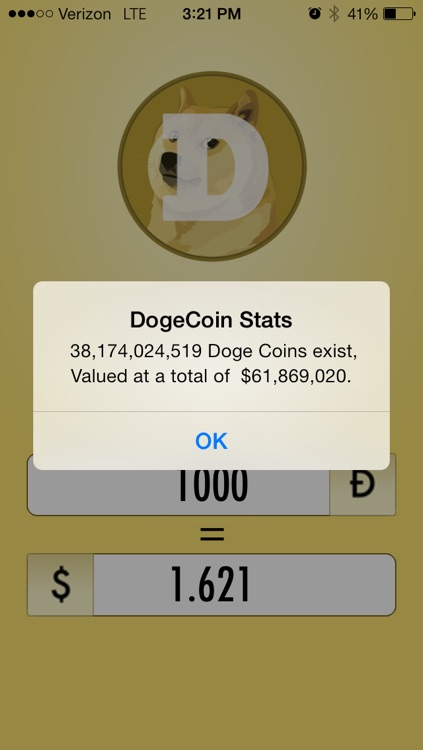 Dogecoin to USD - Doge, Bitcoin, Dollars Conversion by ...