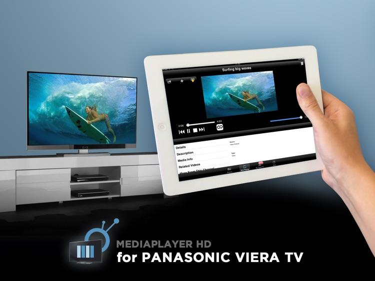 Media Player HD for Panasonic Viera TVs by ZappoTV, Inc