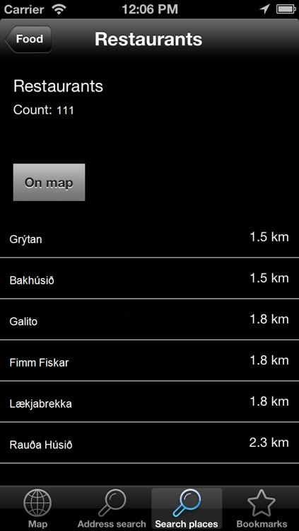 Offline Map Iceland (Golden Forge) screenshot-4