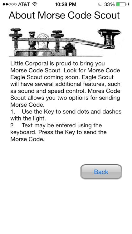 Morse Code Scout