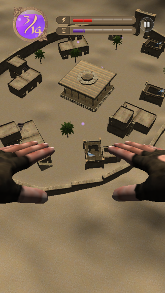 Umoove Experience: The 3D Face & Eye Tracking Flying Game screenshot three