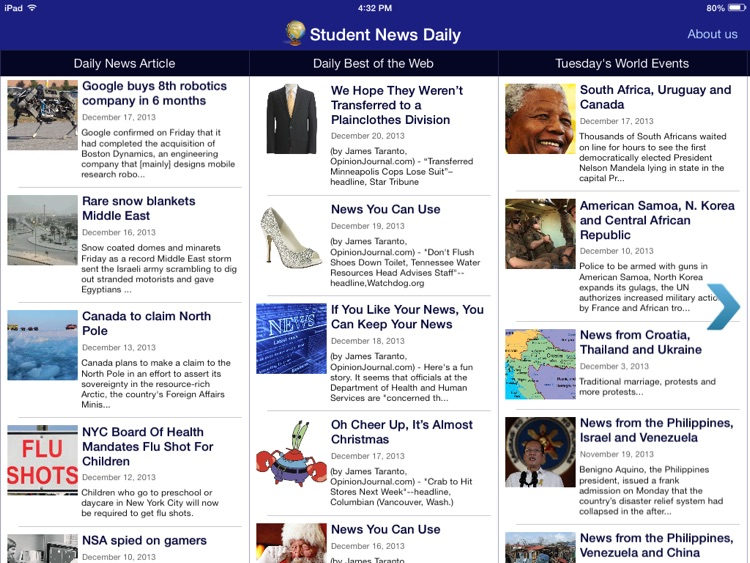 Student News Daily screenshot-0