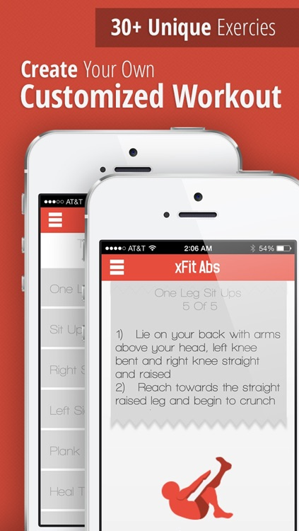xFit Abs – Daily Workout for Sexy Six Pack Abs and Belly Fat Loss