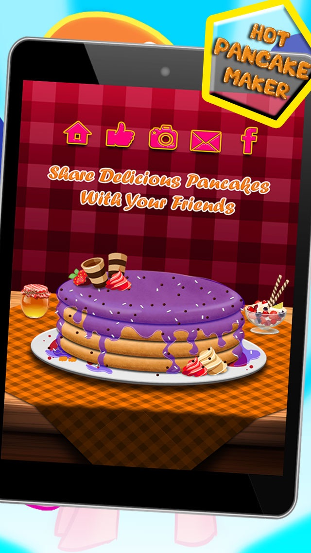 Hot Pancake Maker Free Cooking Game For Kids App Mobile Apps