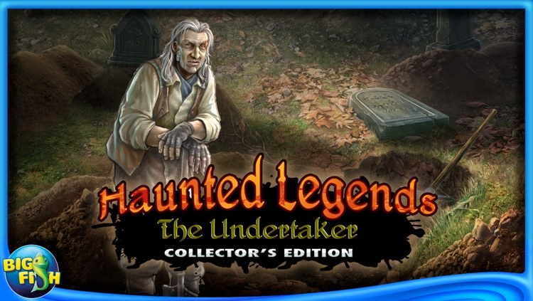 Haunted Legends: The Undertaker - A Hidden Object Adventure screenshot-4