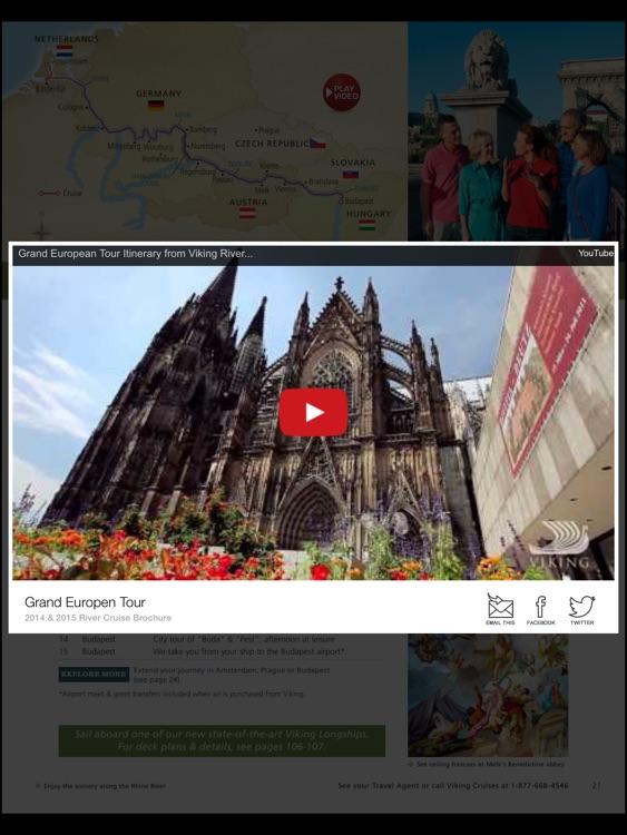 Viking Cruises Multimedia Brochures screenshot-3
