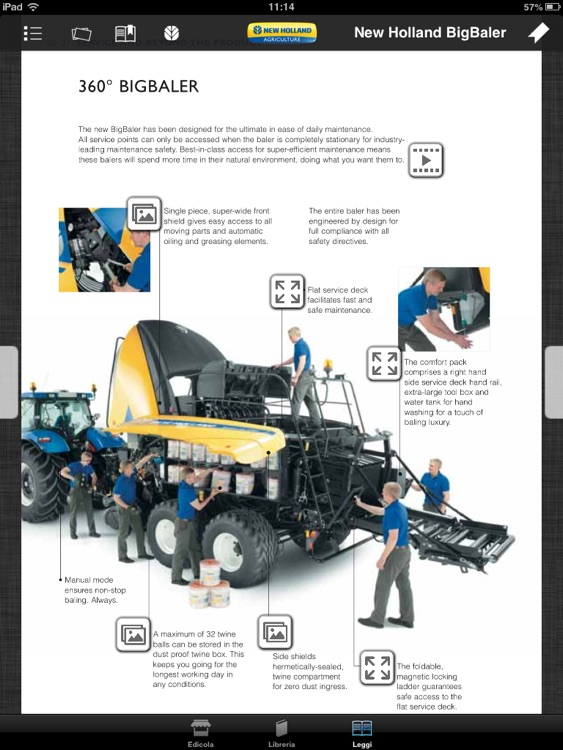 New Holland Agriculture Brochures screenshot-3